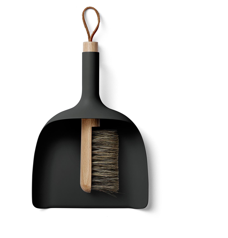 menu sweeper funnel black handfeger und kehrblech. Black Bedroom Furniture Sets. Home Design Ideas