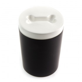 magisso Pet Treat Jar Leckerli-Dose black