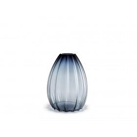 Holmegaard 2Lips Vase blau 45cm