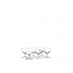 Holmegaard Royal Schnapsglas 6er Set 6cl