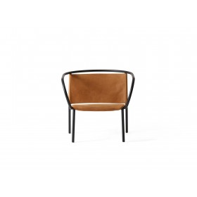 Menu Afteroom Lounge Chair Cognac Clubsessel