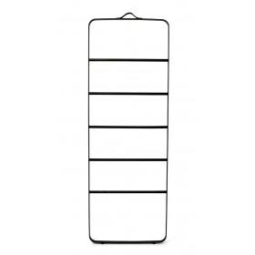 Menu Towel Ladder Black Dark Ash Handtuchleiter