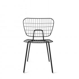 Menu WM String Dining Chair Black Stuhl