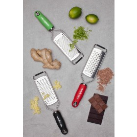 Microplane GOURMET Reibe rot Sehr Grob