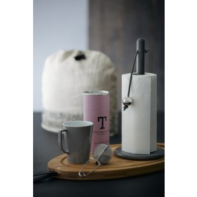 Rosendahl Küchenrollenhalter mit Stahlkugel grau lackiert