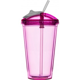 Sagaform Fresh Smoothie-Becher pink