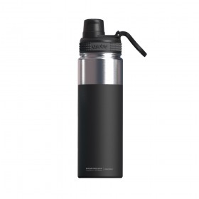 ASOBU ALPINE FLASK Isoliertrinkflasche NEW VERSION TMF6 BLACK