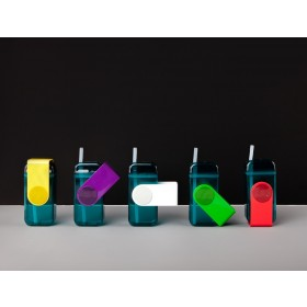 ASOBU JUICE BOX Trinkflasche JB300 GREEN