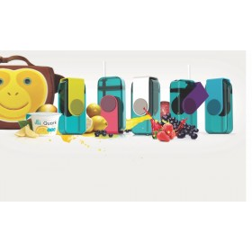 ASOBU JUICE BOX Trinkflasche JB300 PURPLE