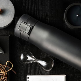 ASOBU LIBERTY CANTEEN Isoliertrinkflasche LC17 BLACK/SMOKE