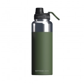 ASOBU MIGHTY FLASK Isoliertrinkflasche NEW VERSION TMF5 GREEN
