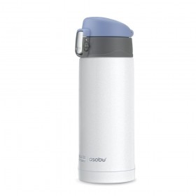 ASOBU MINI DIVA Isoliertrinkflasche V606 WHITE