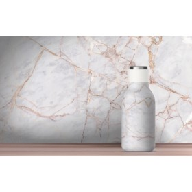 ASOBU URBAN Isoliertrinkflasche SBV24 MARBLE