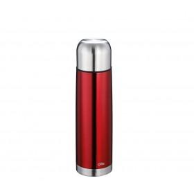 Cilio Isolierflasche COLORE 0,75L metallic rot