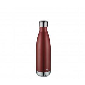 Cilio Isoliertrinkflasche ELEGANTE 0,5L dunkelrot matt