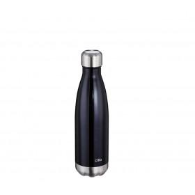 Cilio Isoliertrinkflasche ELEGANTE 0,5L schwarz