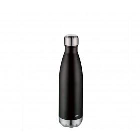 Cilio Isoliertrinkflasche ELEGANTE 0,5L schwarz matt