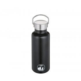Cilio Isoliertrinkflasche GRIGIO 500 ml schwarz