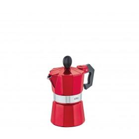 Cilio Espressokocher CLASSICO, 1 Tasse, candy red