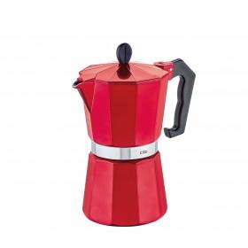 Cilio Espressokocher CLASSICO, 6 Tassen, candy red