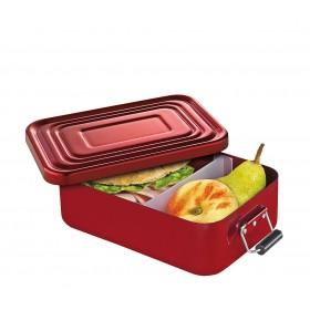 Küchenprofi Lunchbox klein Aluminium rot