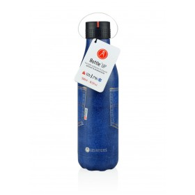 Les Artistes Paris Bottle UP Isoliertrinkflasche 500ml Pocket Blue Jean
