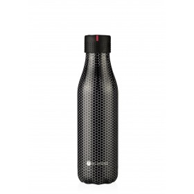 Les Artistes Paris Bottle UP Isoliertrinkflasche 500ml Metal texture