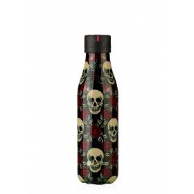 Les Artistes Paris Bottle UP Isoliertrinkflasche 500ml Rose&skull