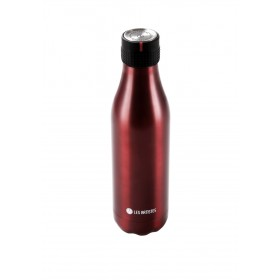 Les Artistes Paris Bottle UP Time'UP Isoliertrinkflasche 500ml Metal Red mat