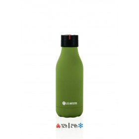 Les Artistes Bottle UP Time'UP Isoliertrinkflasche  280ml Navy Green mat