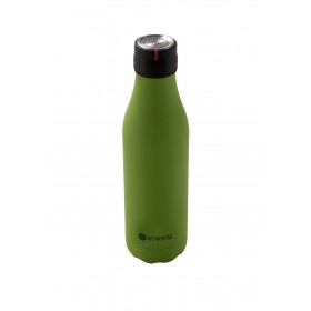 Les Artistes Bottle UP Time'UP Isoliertrinkflasche  500ml Navy Green mat