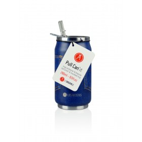 Les Artistes Paris Pull Can'it Isoliertrinkdose 280ml Pocket Blue Jean