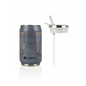 Les Artistes Paris Pull Can'it Isoliertrinkdose 280ml Pocket Grey Jean