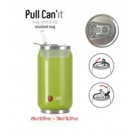 Les Artistes Paris Pull Can'it Isoliertrinkdose 500ml Camouflage