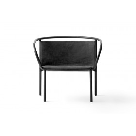 Menu Afteroom Lounge Chair Black Clubsessel