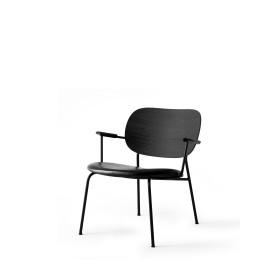 Menu Co Chair LC Black Base Black Oak Dakar Clubsessel