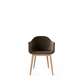 Menu Harbour Chair Natural Oak City Velvet Stuhl