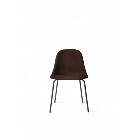Menu Harbour Side Chair Black Steel Base Colline Stuhl