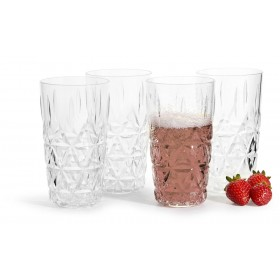 Sagaform Picknick Universalglas 40cl 4er Set