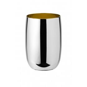 Stelton Foster Wasserglas 0,2 L Stahl golden