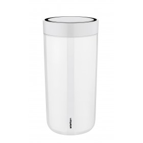 Stelton Isolierbecher To Go Click 0,4L steel chalk