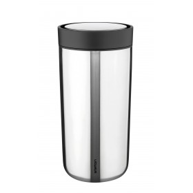 Stelton Isolierbecher To Go Click 0,4L steel