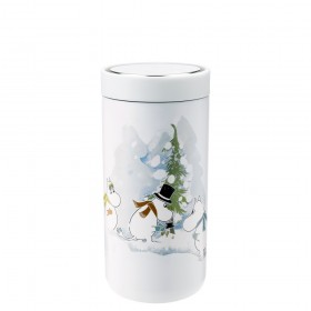 Stelton Isolierbecher To Go Click 0,4L soft white Moomin