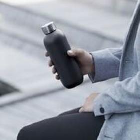 Stelton Keep Cool Trinkflasche 0,6l black
