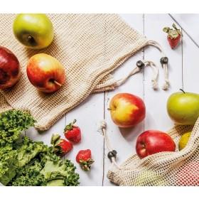Zassenhaus Obst-/Gemüsebeutel 3er Set 33 x 30 cm