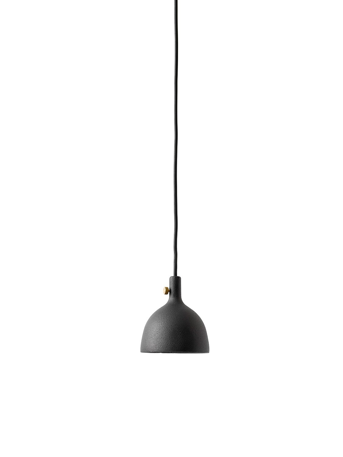 Menu Cast Pendant Shape 2 Black Pendelleuchte