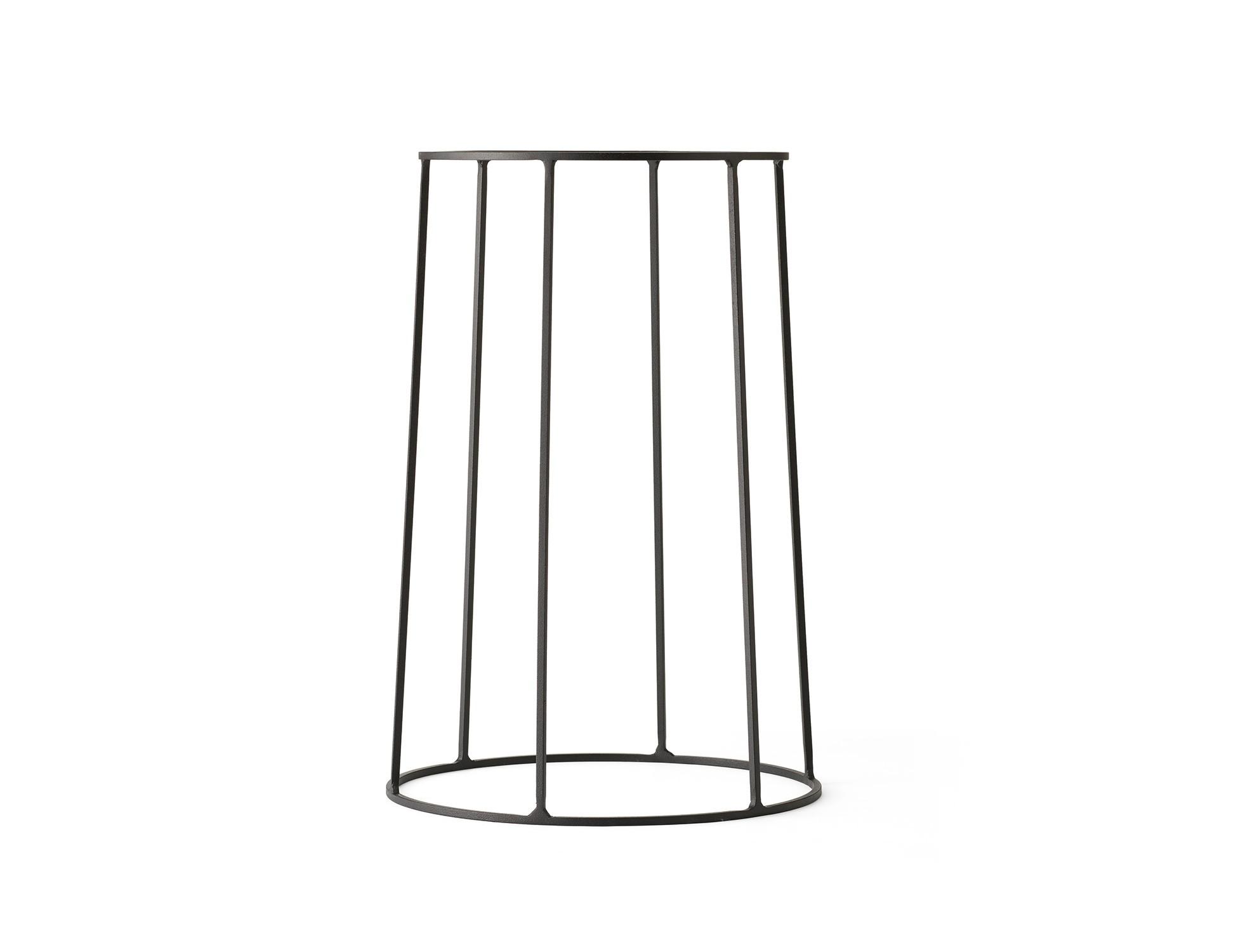 Menu WIRE Base 404 Black Ständer für Öllampe