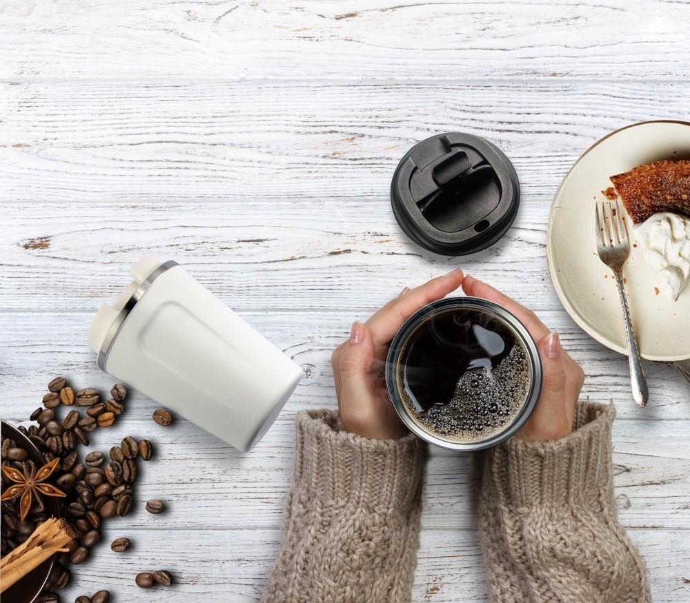 ASOBU CAFÉ COMPACT Isolierbecher BF22 WHITE