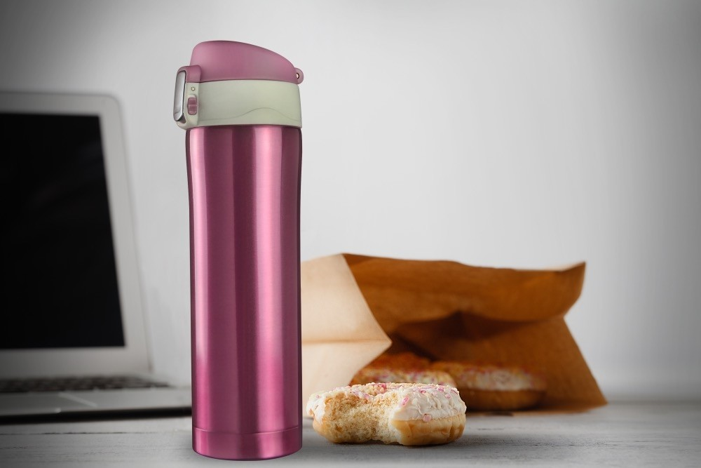 ASOBU DIVA CUP Isolierbecher V600 PINK/WHITE