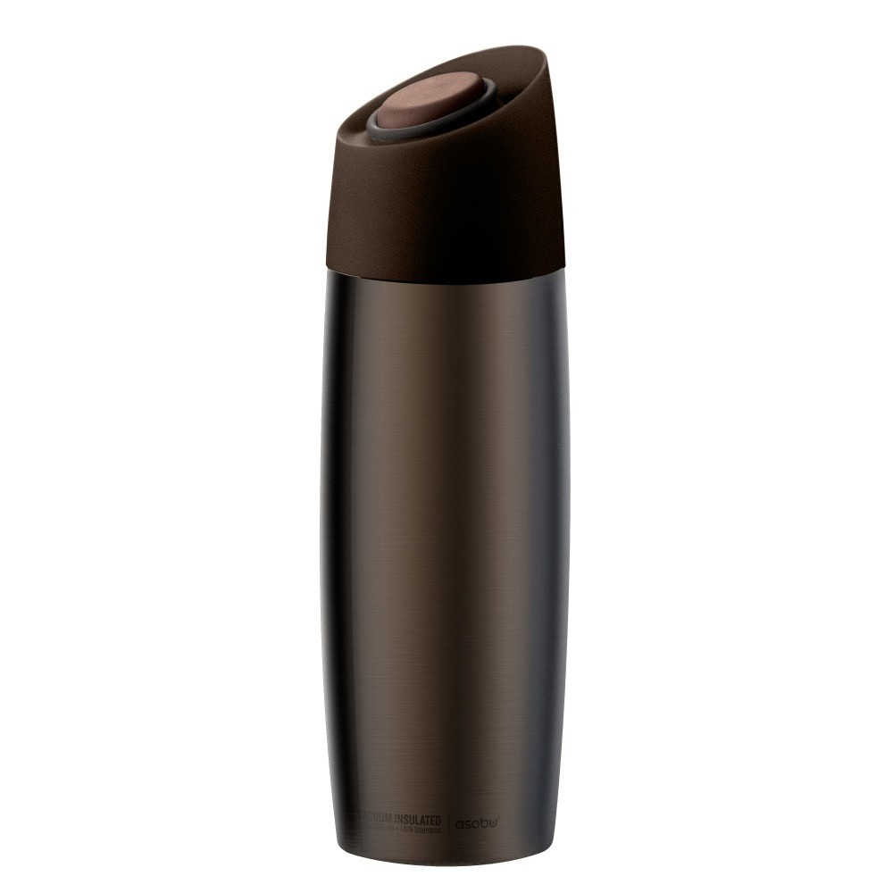 ASOBU THE 5TH AVENUE COFFEE TUMBLER Isolierbecher V800 BROWN